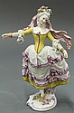 Capodimonte porcelain figure of a beauty
