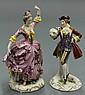 Continental porcelain figures