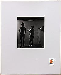 Joan Murray, Ruth Bernhard in Her Studio, gelatin silver print