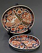 Two Japanese Imari Porcelain Trays, 19th c