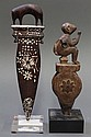 Two Southeast Asian Wood Carvings, Spindle/Curtain Pull
