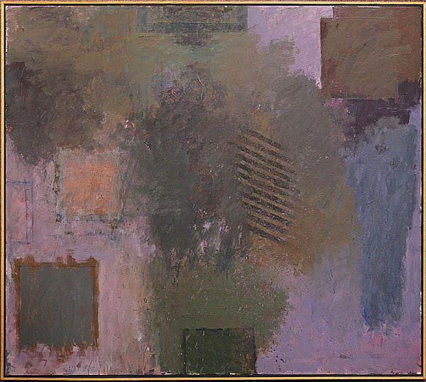 Abstract Painting, Farrar Wilson, Earths and Mauve, 1999