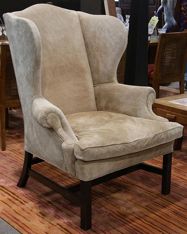 Ralph Lauren Wing Back Chair