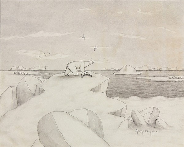 Drawing, George Ahgupuk