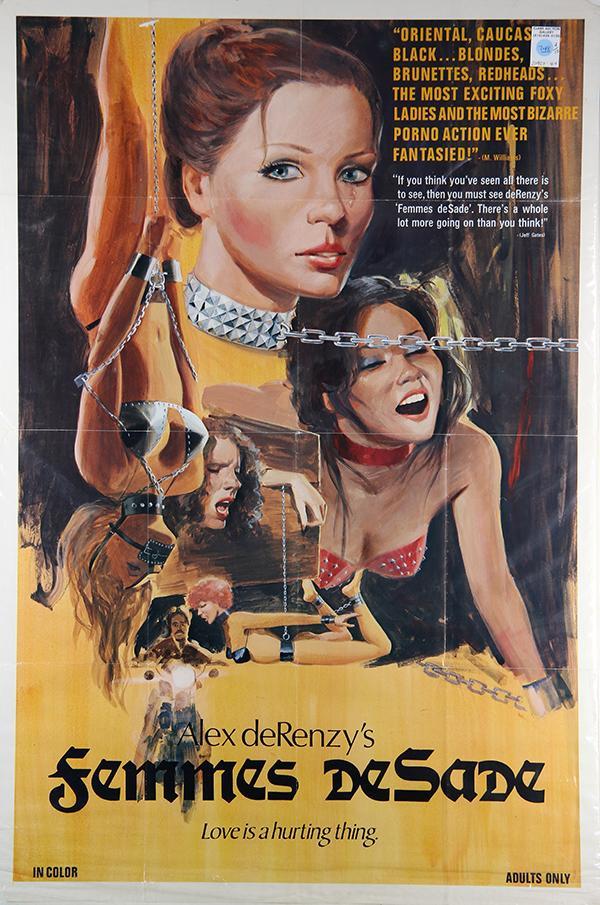 Vintage Erotic Film Posters