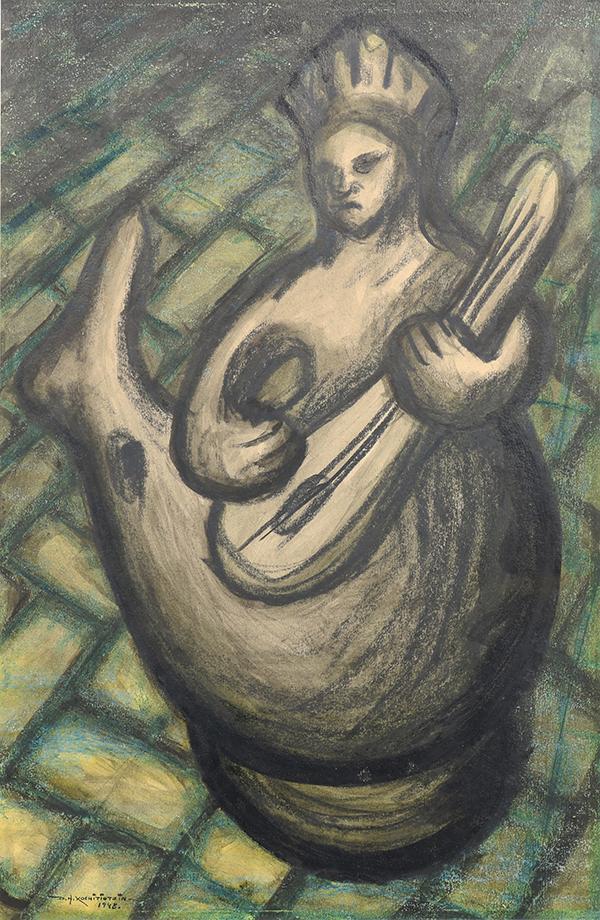 Work on Paper, Desidero Hernandez Xochitiotzin
