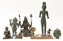 South/Southeast Asian Metal Sculptures