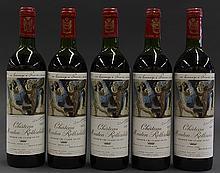 1973 Baron Philippe de Rothschild Chateau Mouton Rothschild