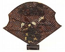 Chinese Tortoise Shell Fan