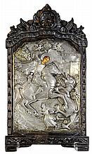 Greek icon, depicting St.George the Dragon Slayer