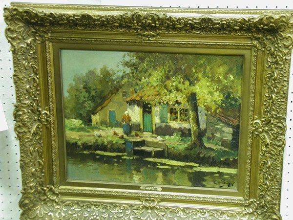 Oil/canvas, European 19th-20th century