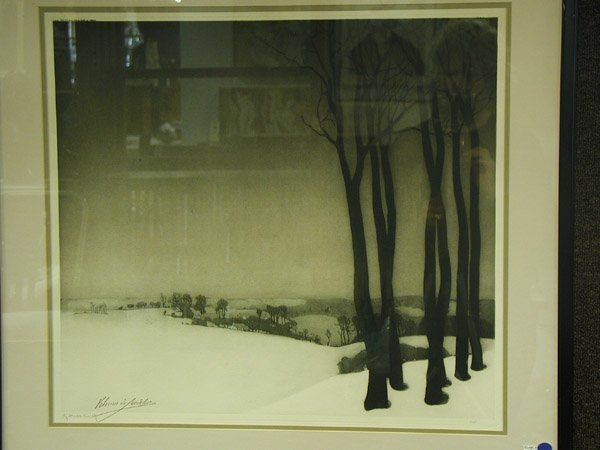 Mezzotint, European 20th century