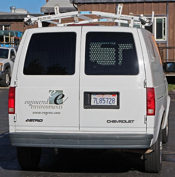 2004 Chevrolet Astro Cargo Van, Roof Rack And Industrial Int