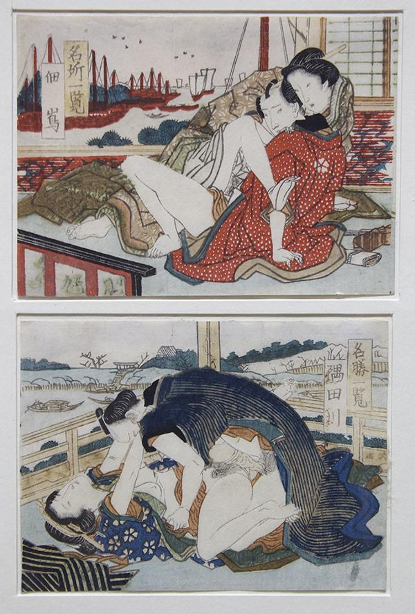 Japanese woodblock erotic — photo 14