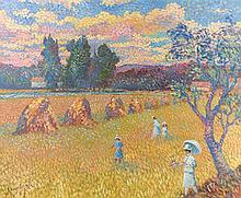 Lucien Neuquelman painting