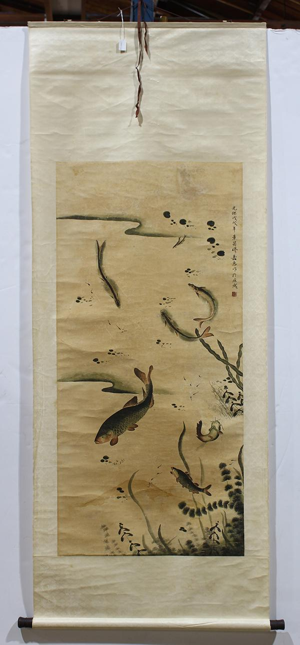 Chinese Scrolls of Fish
