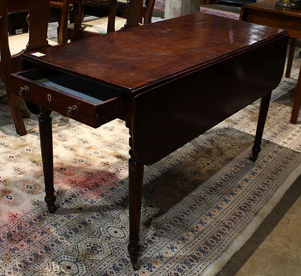 Federal mahogany drop leaf table circa 1810