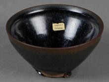 Chinese Oil Spot Glazed Bowl