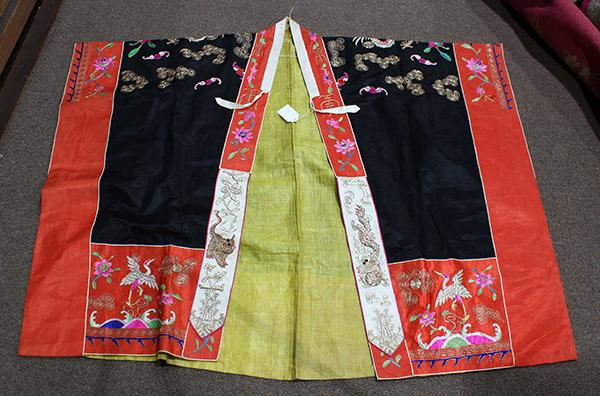 Chinese Theatrical Daoist Robe