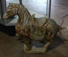 Stone Figure of a Horse