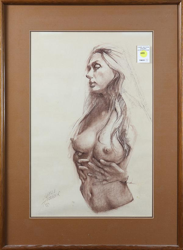 Drawing, Female Nude