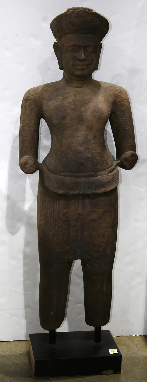 Cambodian Molded Stone Sculpture