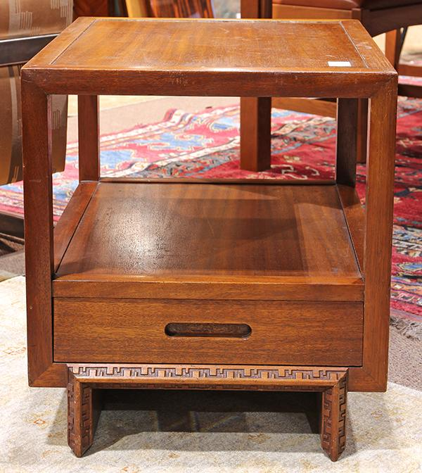Frank Lloyd Wright for Heritage Henredon ''Taliesin'' end table