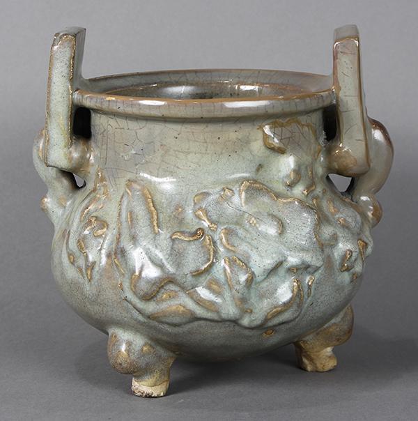 Chinese Crackle Glaze Censer