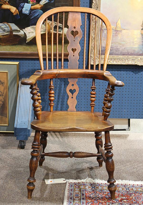 American Windsor chair