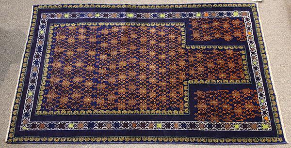 Afghan Belouch prayer rug, 3'' x 4''8''''