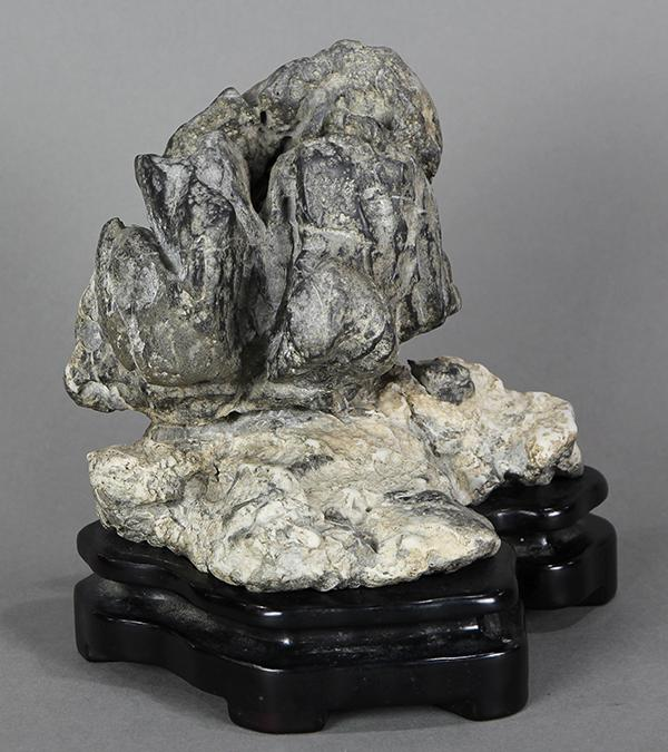 Chinese Two Colored Scholar''s Rock