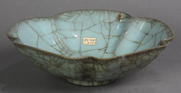Chinese Guan-type Floral Form Bowl