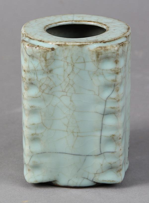 Chinese Guan-type Cong Vase