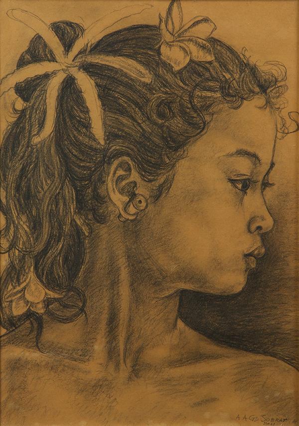 Drawing, Anak Agung Gede Sobrat