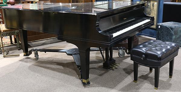 baldwin piano serial number location