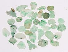 Group of Chinese Jadeite Plaques