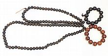 Three Chinese Bead Bracelets/Necklace