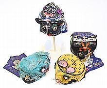 Four Chinese Children's Hat
