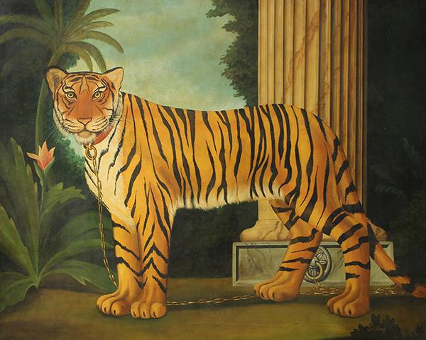 Painting, William Skilling, Tiger