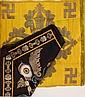 Two Tibetan Textile, Vajra