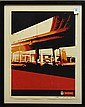 Shepard Fairey, Dallas Highway, color silkscreen