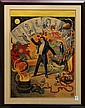 Lithographic poster, Magician's Stock Poster, Adolph Friedlander