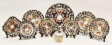 Royal Crown Derby Imari table service