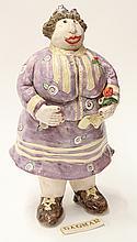 C. Hipkiss figural sculpture