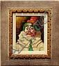 Painting, Julian Ritter, Clown, Julian Ritter, Click for value
