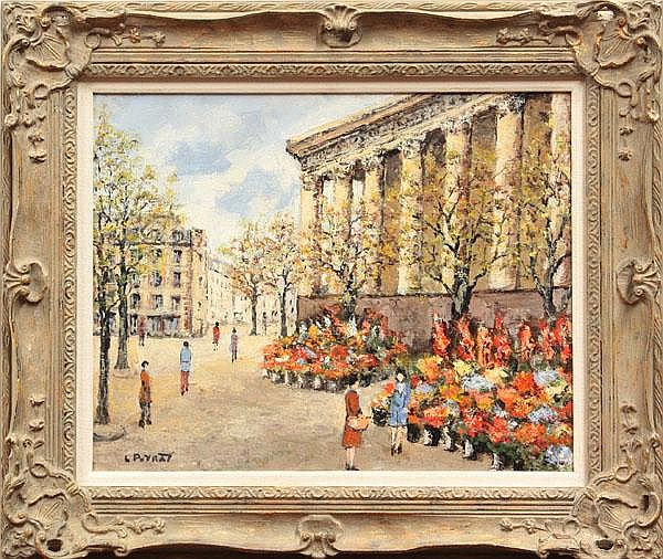 Painting, Louis Peyrat, Paris
