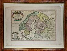 Map, Alexis Hubert (Jailloteau) Jaillot