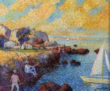 Painting, Lucien Neuquelman