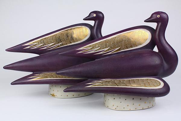 Gregory weylande new york art deco style figural birds havi - Style new york deco ...