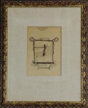 Drawing, Louis Michel Eilshemius